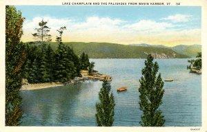 VT - Basin Harbor, Lake Champlain and the Palisades