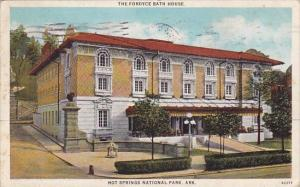 The Fordyce Bath House Hot Springs National Park Arkansas 1927