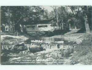 1960's rppc NICE VIEW Swiftwater - Near Stroudsburg & Mount Pocono PA i7492