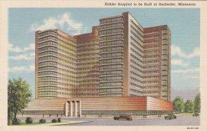 Minnesota Rochester Kahler Hospital Curteich sk5417