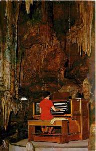 Great Stalapipe Organ Beautiful Caverns of Luray Virginia VA Postcard