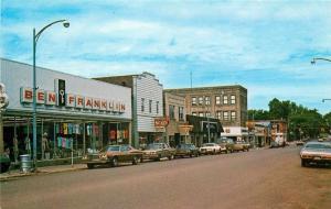Iron River Michigan~Ben Franklin Store~Smartwear~Newstand 1970s