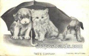Artist Vincent Colby Postcard Post Card Old Vintage Antique 1910