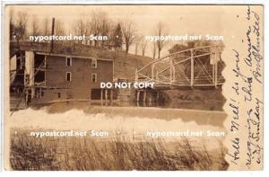 RPPC, Dam, Bridge, Mill, PM Masonville NY