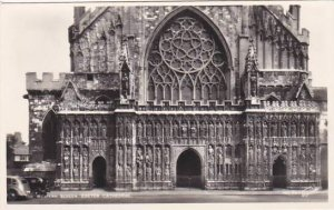 England Exeter The Cathedral Western Screen Photo