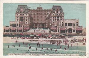New Jersey Atlantic City Hotel Dennis With Its Unobstructed Ocean View 1942