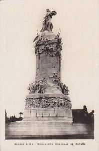 RP, Monumento Homenaje De Espana, Buenos Aires, Argentina, 1920-1940s
