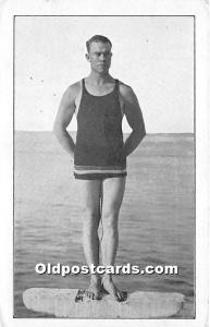 Oscar Griffith, Deep Sea Diver Catalina Island, California, CA, USA Unused