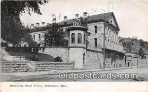 Minnesota State Prison Stillwater, Minn USA Prison Postcard Post Card Stillwa...