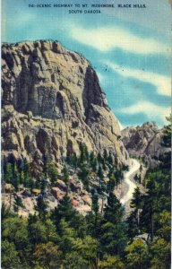 [ Linen ] US So. Dakota Black Hills - Scenic Highway To Mt. Rushmore