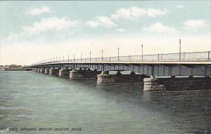 Massachusetts Boston The Harvard Bridge 1910