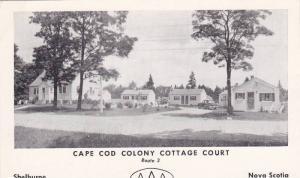 Cape Cod Colony Cottage Court, Nova Scotia, Canada,  40-60s