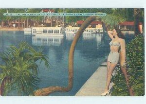 Linen risque SEXY GIRL AT SILVER SPRINGS Ocala Florida FL AF9951