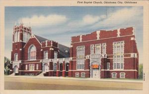 Oklahoma Oklahoma City First Baptist Church Curteich