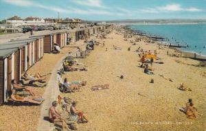MILFORD ON SEA, England, 1940-1960's; The Beach