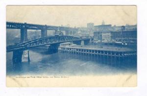 High Level & Swing Bridges, Newcastle-On-Tyne, England, UK, 1900-1910s
