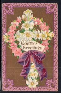 Easter Greetings Flowers BIN
