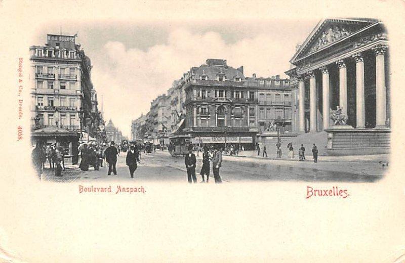 Boulevard Anspach Bruxelles Belgium Unused