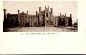 New York Binghamton State Hospital