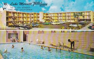 California Oakland Lake Merritt Trave Lodge Motel With Swimming Pool