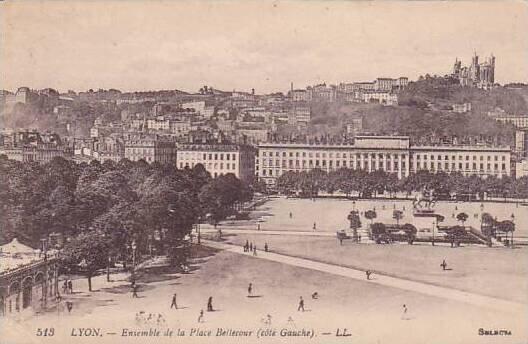 France Lyon Ensemble de la Place Bellecour