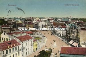 romania, CONSTANTA CONSTANȚA, General View, Street Scene (1928)