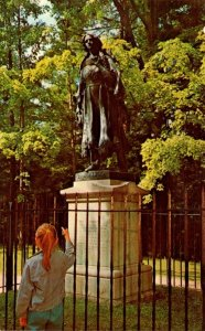 New York Letchworth Park Bronze Statue Of Mary Jemison