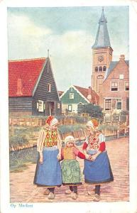 Netherlands Op Marken, Traditional Folklore Dutch Costume, clothing