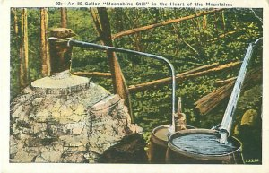 Moonshine Still, 80 Gallons, In the Heart of the Mountains