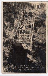 RP: KATOOMBAA , N.S.W. , Australia , 1930s ; Scenic Railway #2