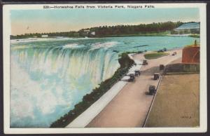Horseshoe Falls from Victoria Park,Niagara Falls,ON,Canada