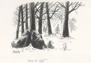 Winnie The Pooh Punch Magazine Comic Postcard