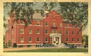 Tobey Hospital Wareham MA Unused