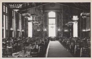 Ahwahnee Dining Room Restaurant Yosemite Calafornia Vintage Real Photo Postcard