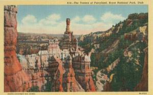 The Towers of Fairyland, Bryce National Park, Utah unused...