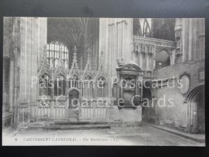 Old PC Kent: Canterbury Cathedral, The Martydom, by LL. No.6