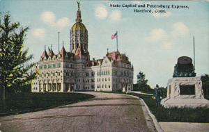State Capitol Building and Petersburg Express Hartford Connecticut