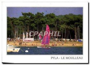 Modern Postcard Arcachon Gironde Sailing Club Pyla The Moulleau Boat Catamaran