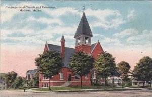 Maine Madison Congregational Church And Parsonage