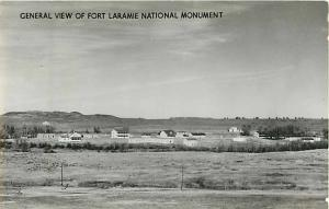 General View of Fort Laramie National Monument Wyoming WY RP