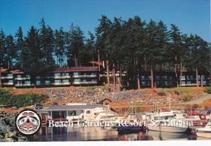 Canada British Columbia Powell River Beach Gardens Resort & Marina