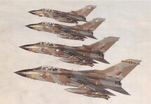 Postcard NEW RAF Laarbruch Tornado Wing by Squadron Prints No.9