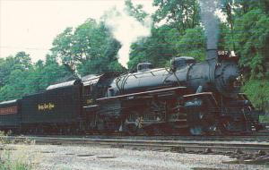 Nickel Plate Road Railway Light Mikado 2-8-2 Locomotive Number 587 at Lynchbu...