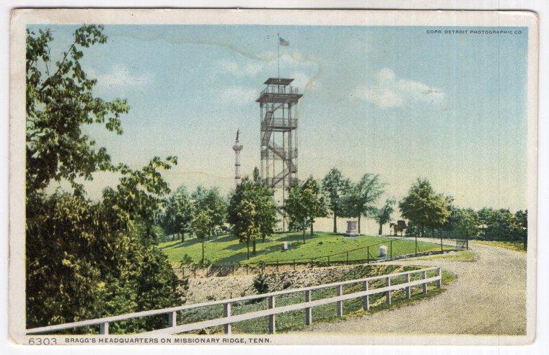 Bragg's Headquarters On Missionary Ridge, Tenn.