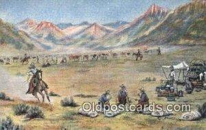 No. 14 Artist L.H. Larson Postcards Post Cards Old Vintage Antique unused