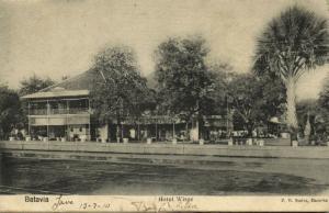 indonesia, JAVA BATAVIA, Hotel Wisse (1899)