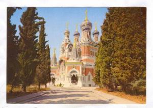 Nice , France, 50-70s ; L'eglise Russe