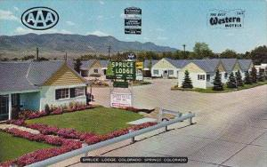 Colorado Colorado Springs Spruce Lodge