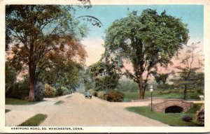 Connecticut South Manchester Hartford Road 1921 Curteich