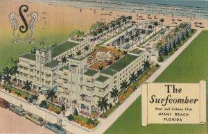 MIAMI BEACH , Florida , 1930-40s ; The Surfcomber Hotel
